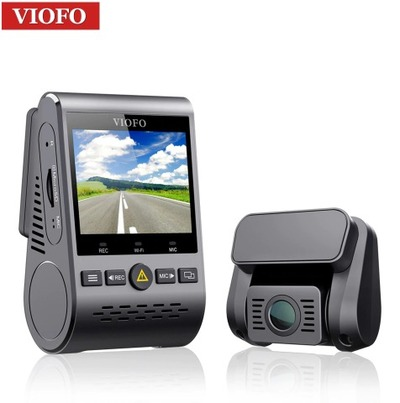 Review camera DVR auto Viofo A129 Duo GPS, filmare iarna, la munte