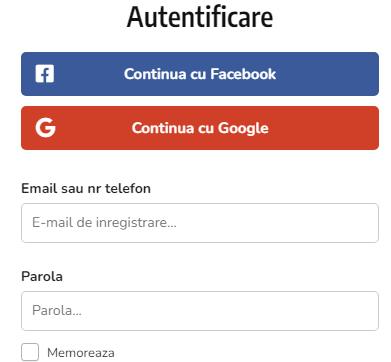 Conectarea pe pagina Ok Forum Romania - Anunturi gratuite