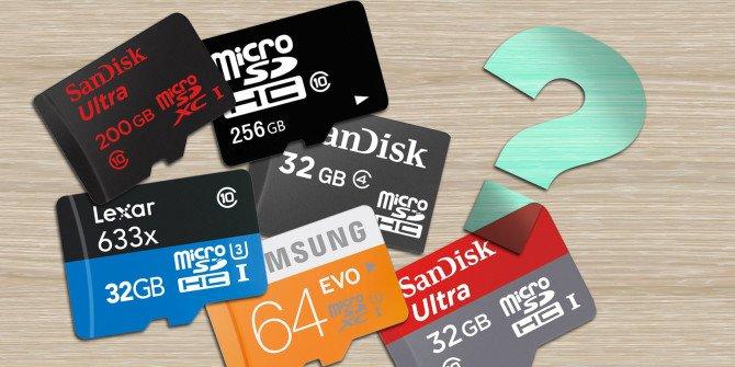 Despre cardurile de memorie SD. Clasificare si standarde de viteza
