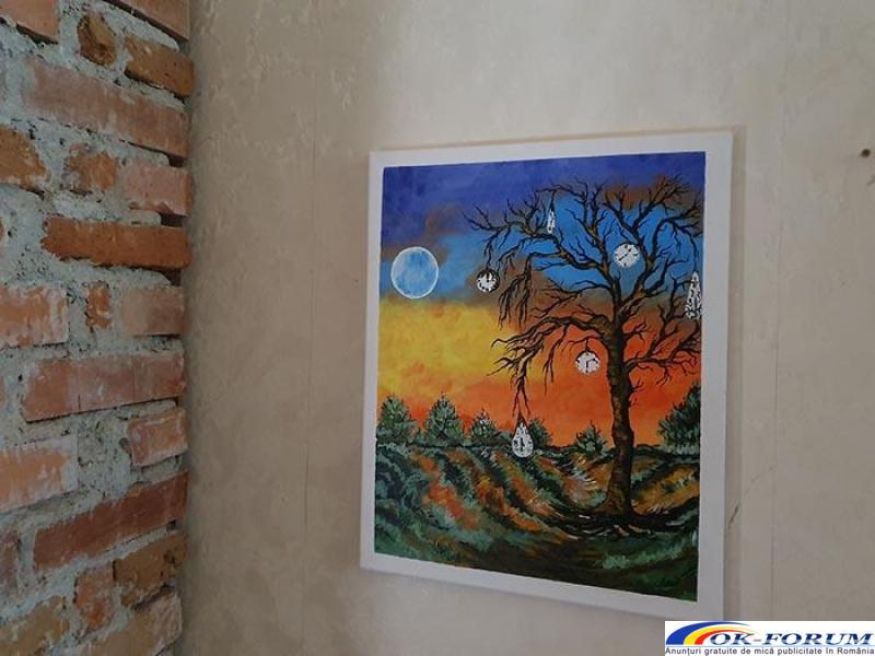 Pictura pe panza in culori acrilice diverse teme - 1