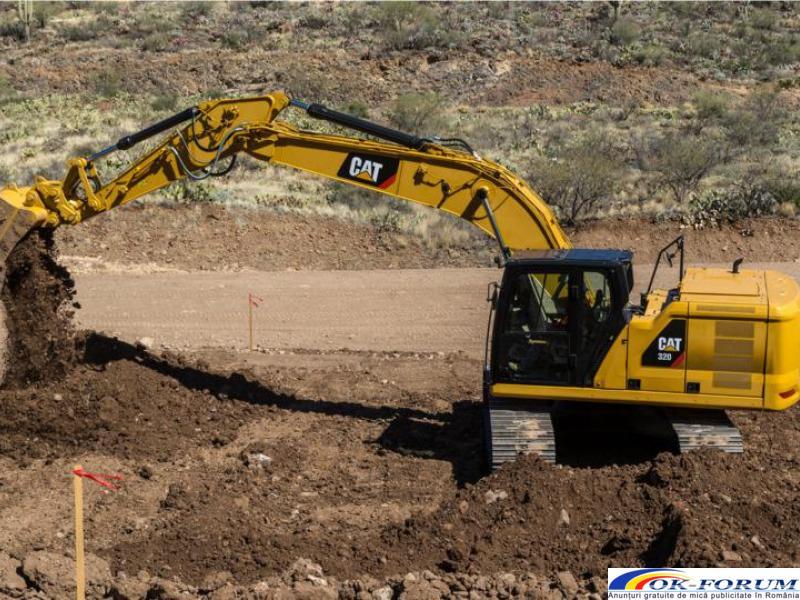 Inchirez excavator pe senile. Utilaje in constructie - 2