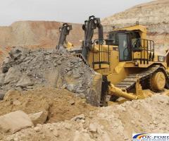 Inchiriez buldozer pentru profilare drumuri, nivelare terenuri