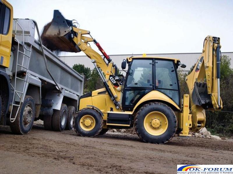 Inchiriez buldoexcavatoare echipate in functie de nevoile clientului - 1
