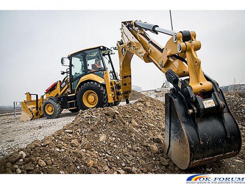 Inchiriez buldoexcavatoare echipate in functie de nevoile clientului - 4