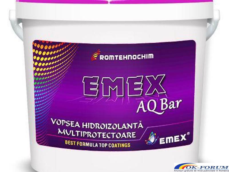 Vopsea Hidroizolanta Elastica EMEX AQ BAR - 1