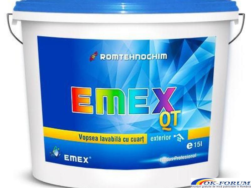 Vopsea Lavabila Exterior Cuartz EMEX QT - 1