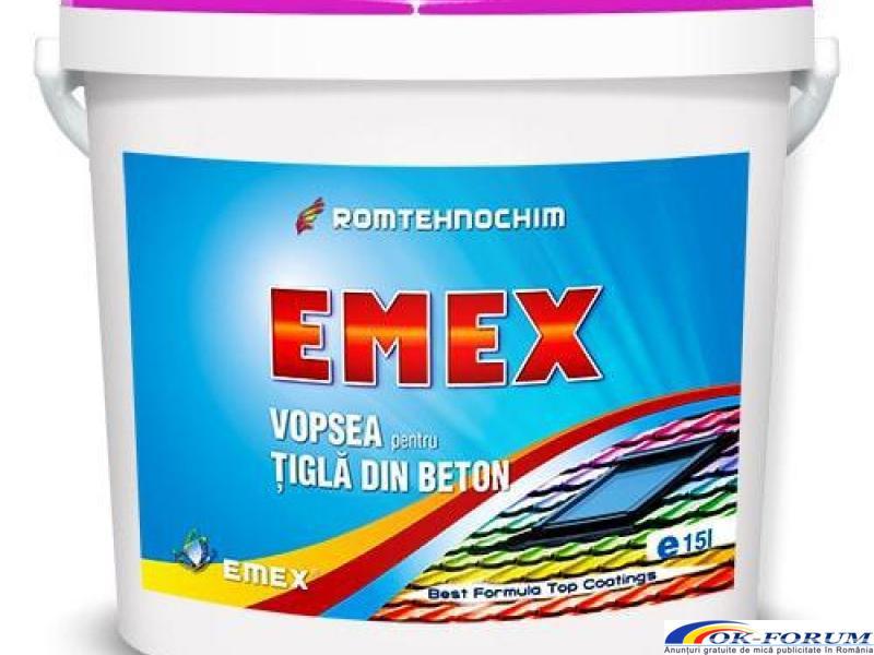 Vopsea pentru Tigla si Azbociment EMEX - 1