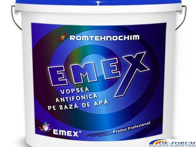 Vopsea Antifonica Insonorizanta EMEX - 1