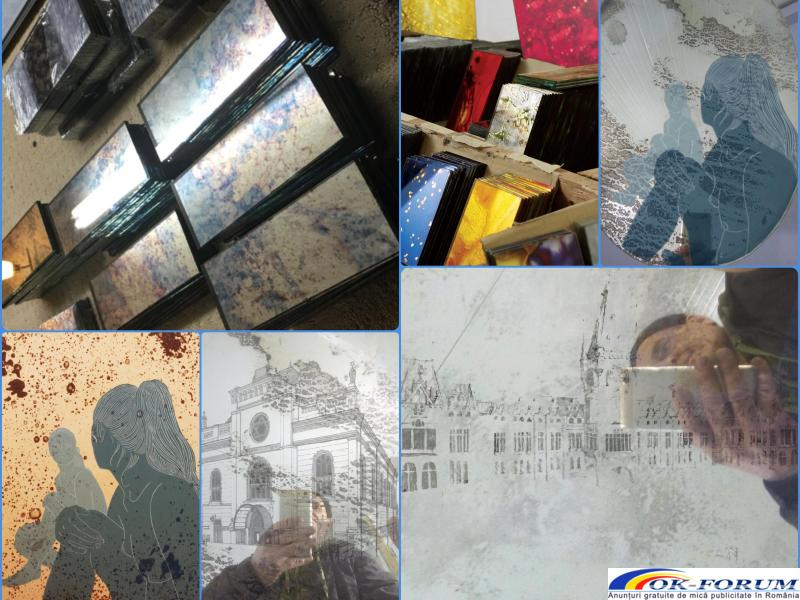 Oglinzi hol, eglomizate , decorative, argintate, antichizate - 1