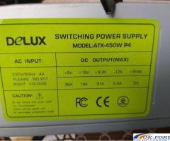 Sursa calculator PC, DeLux model ATX-450W P4