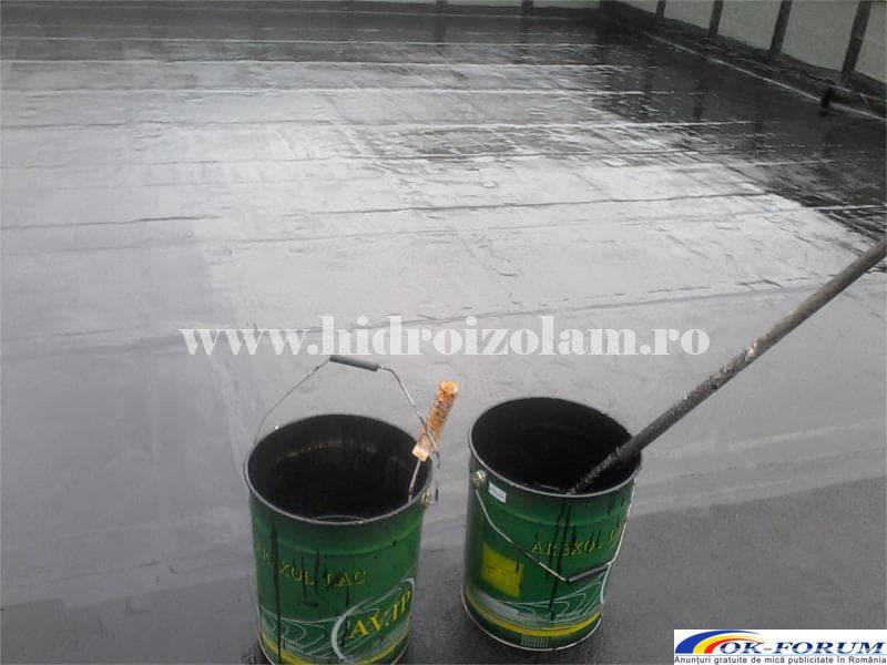 Hidroizolatii terase - reparatii locale - 2