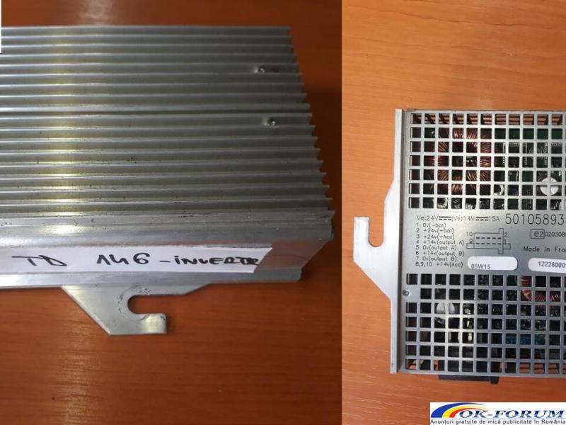 Invertor DAF LF 45.220. Piese provenite din dezmembrari camioane - 1