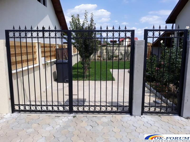Confectii Metalice Bucuresti - Garduri si Porti Metalice - 1