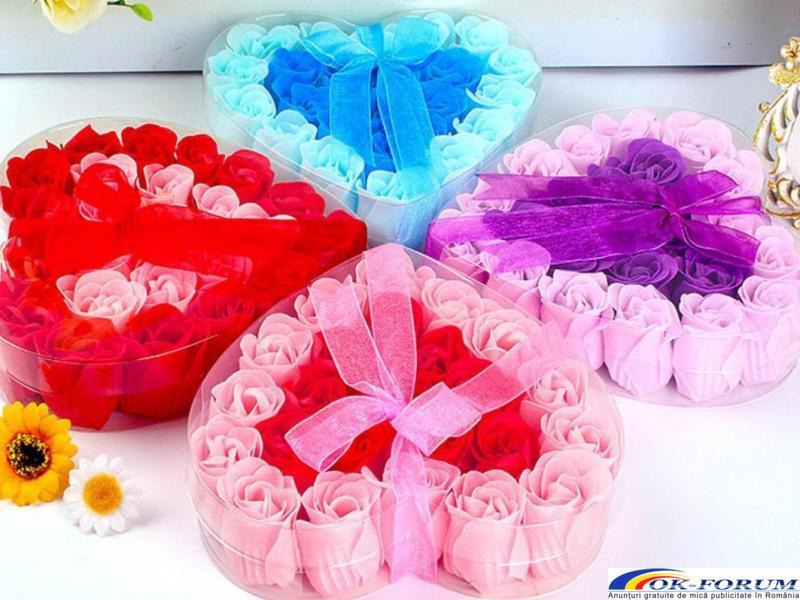 Trandafiri sapun handmade - 1