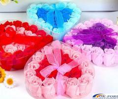 Trandafiri sapun handmade