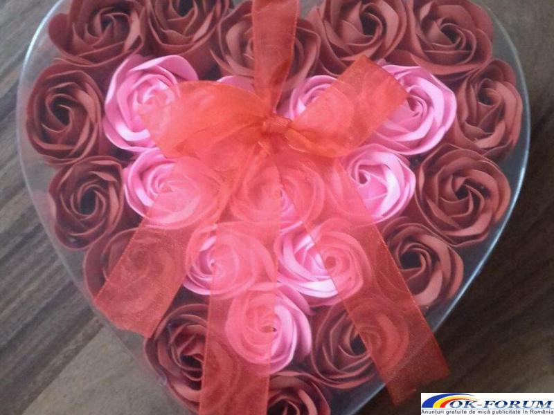 Trandafiri sapun handmade - 3