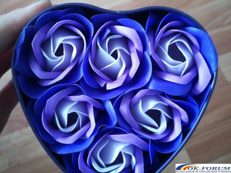 Trandafiri sapun handmade - 4