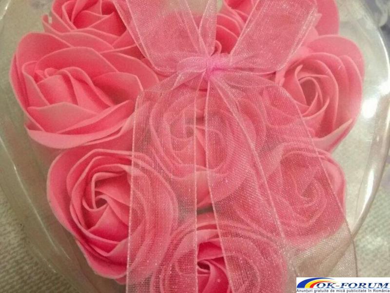 Trandafiri sapun handmade - 5