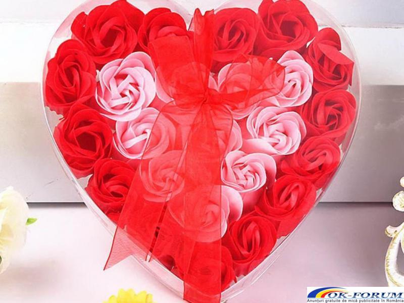 Trandafiri sapun handmade - 6