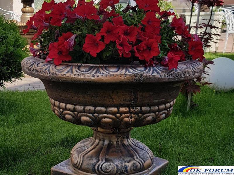Ghivece din beton/ghiveci beton/jardiniera gradina/jardiniera de gradina din beton/ghiveci bet beton - 1