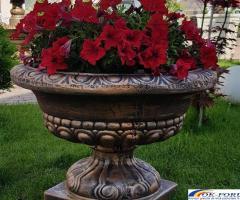 Ghivece din beton/ghiveci beton/jardiniera gradina/jardiniera de gradina din beton/ghiveci bet beton