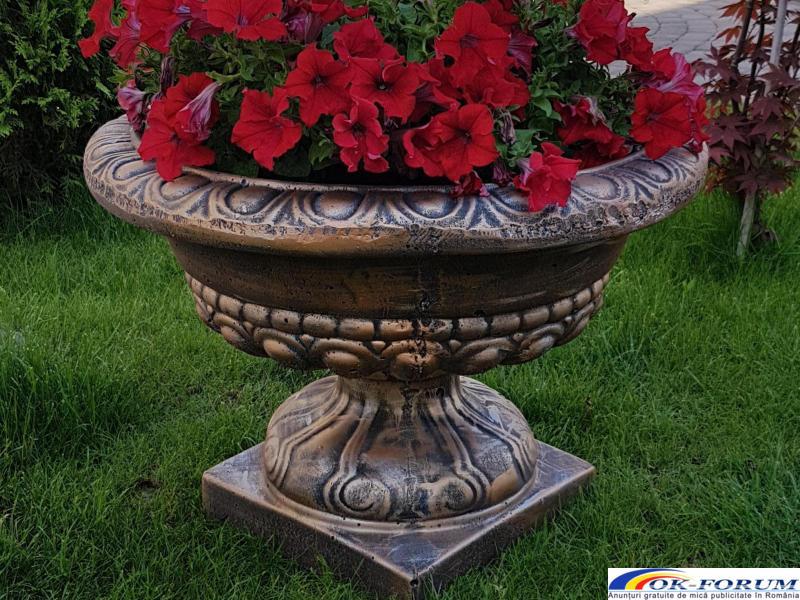 Ghivece din beton/ghiveci beton/jardiniera gradina/jardiniera de gradina din beton/ghiveci bet beton - 3