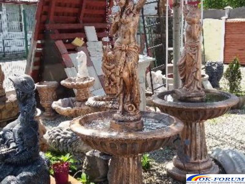 Fantana arteziana F7 ornament gradina din beton - 4
