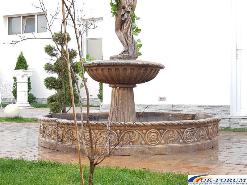 Fantana arteziana din beton F24 ornament gradina - 5