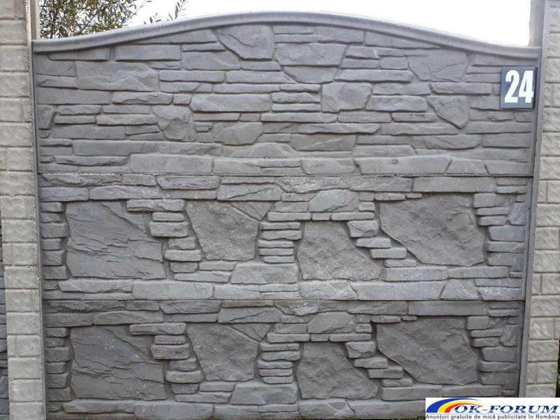 Producem si vindem peste 30 de modele din gard beton vibropresat - 3