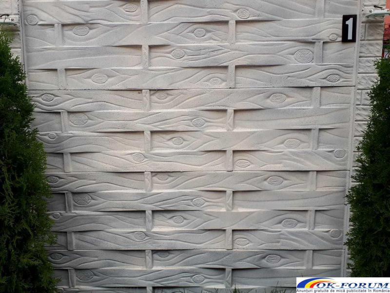 Producem si vindem peste 30 de modele din gard beton vibropresat - 5