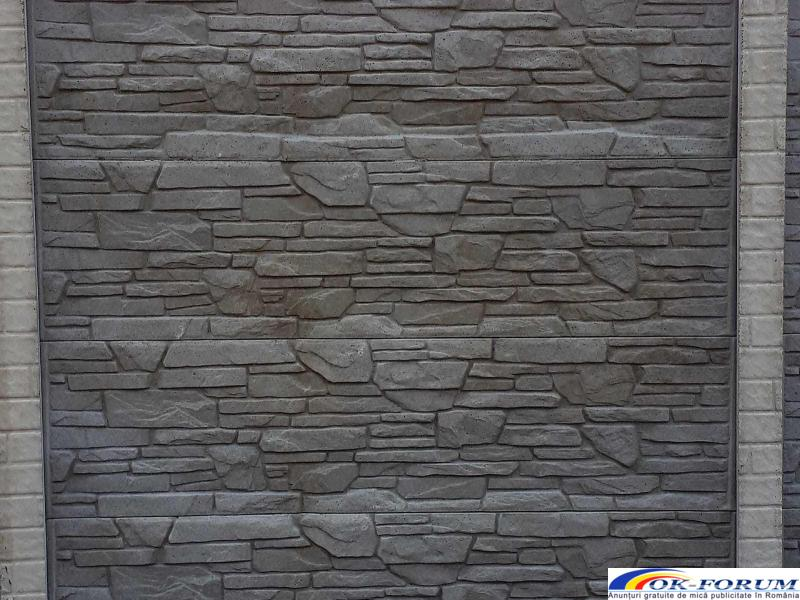 Producem si vindem peste 30 de modele din gard beton vibropresat - 6