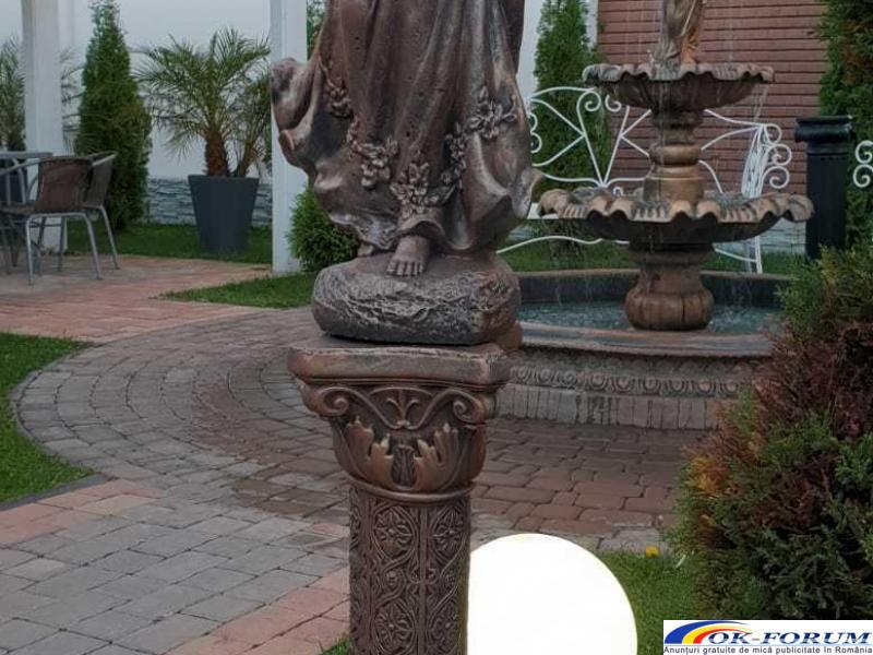 Ingeras beton cu coloana mare statueta ingeras - 2
