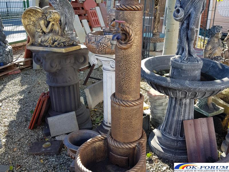Cismea apa din beton gradina - 3