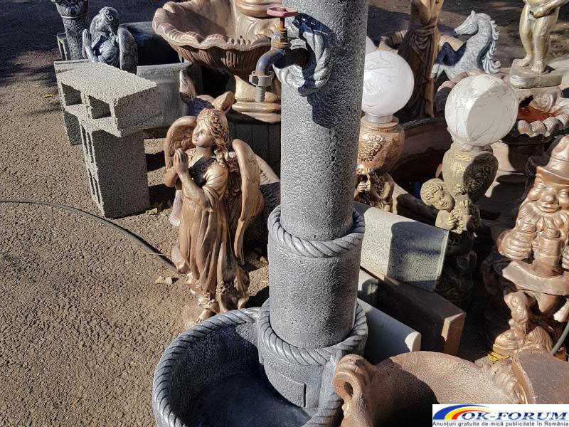 Cismea apa din beton gradina - 5