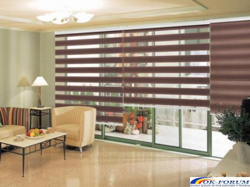 Jaluzele verticale / Usi garaj / Rolete textile - 1