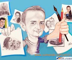 Caricaturi, portrete, picturi, cadoul surpriza pentru cei dragi!