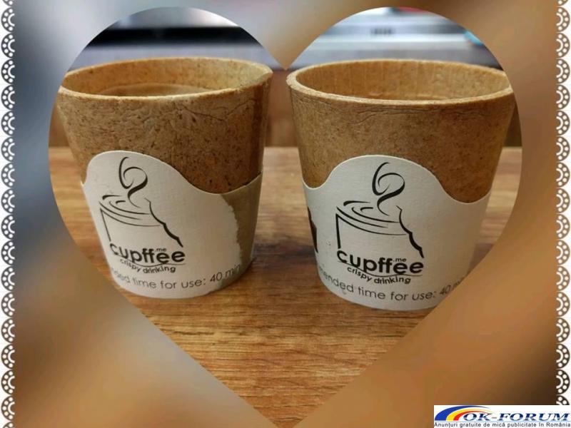 Cesti comestibile pentru Cafea - 1