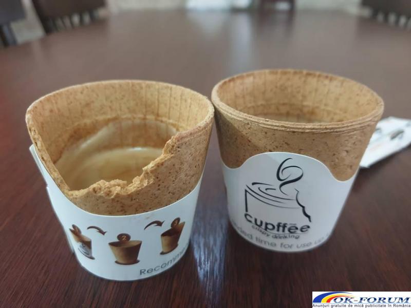 Cesti comestibile pentru Cafea - 2