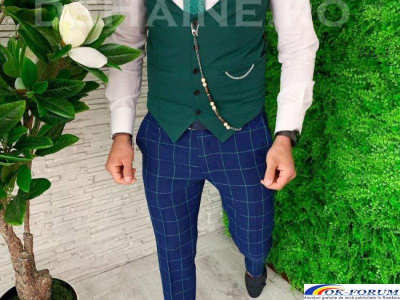 Compleuri pentru barbati engros - vesta + pantaloni eleganti - cele mai bune preturi! - 3