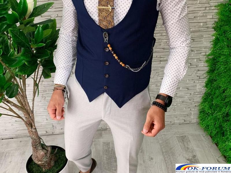 Compleuri pentru barbati engros - vesta + pantaloni eleganti - cele mai bune preturi! - 4