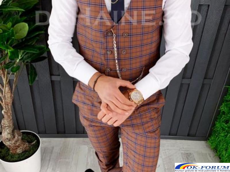Compleuri pentru barbati engros - vesta + pantaloni eleganti - cele mai bune preturi! - 5