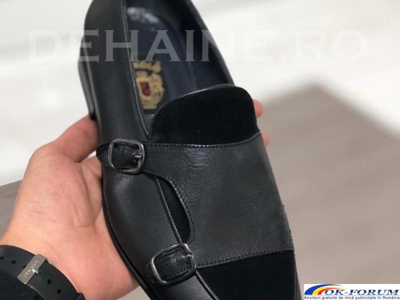 Pantofi din piele naturala pentru barbati engros - cele mai mici preturi! - 1