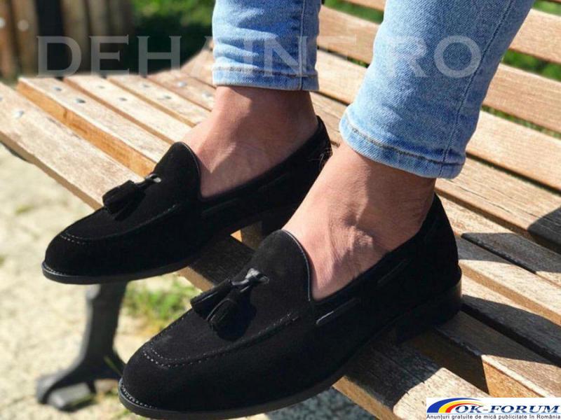Pantofi din piele naturala pentru barbati engros - cele mai mici preturi! - 2