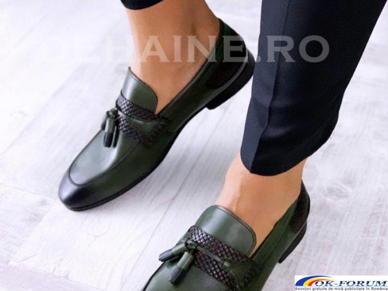 Pantofi din piele naturala pentru barbati engros - cele mai mici preturi! - 3