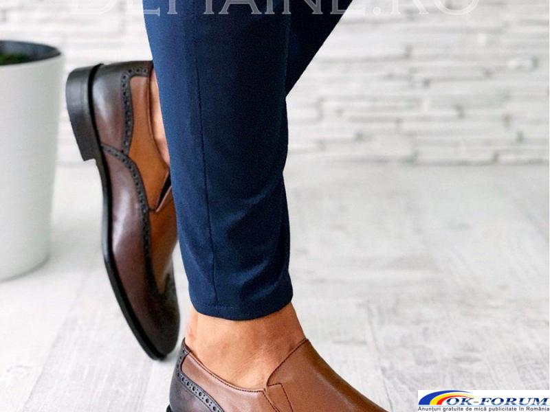 Pantofi din piele naturala pentru barbati engros - cele mai mici preturi! - 4