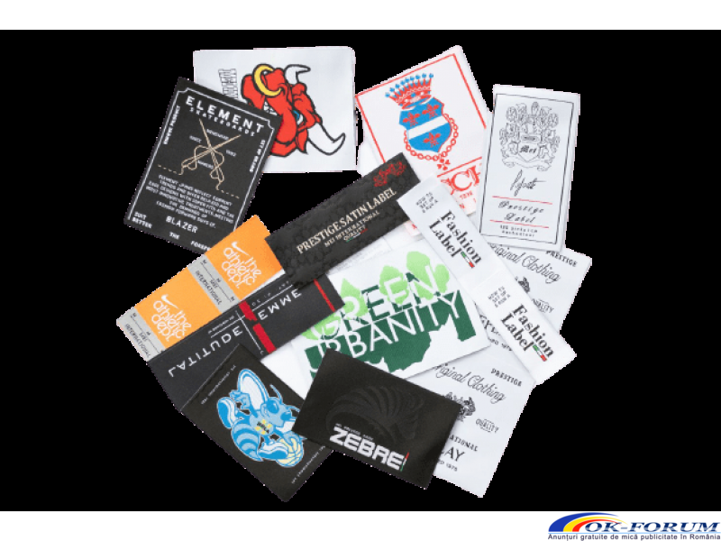 Etichete tesute personalizate tip satin, semi-satin (high definition) - 4