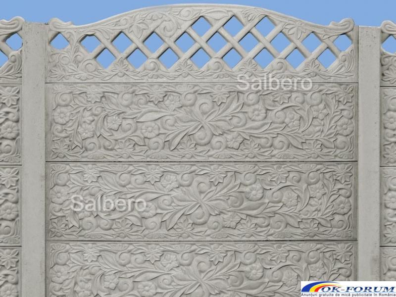 Garduri de beton rezistente - 1