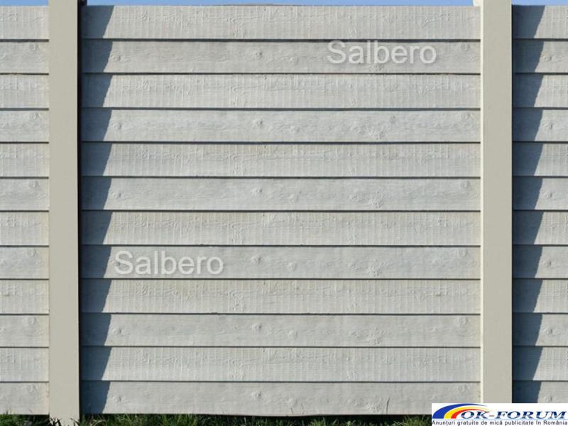 Garduri de beton rezistente - 3