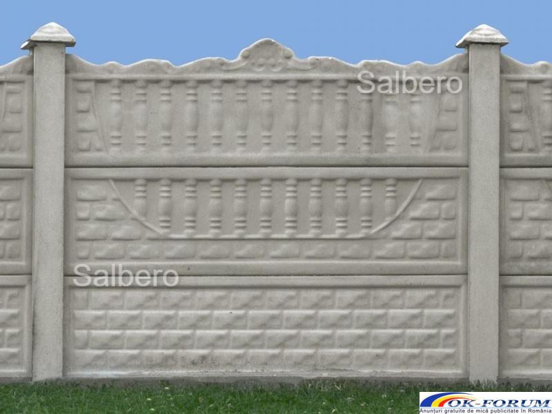 Garduri de beton rezistente - 4