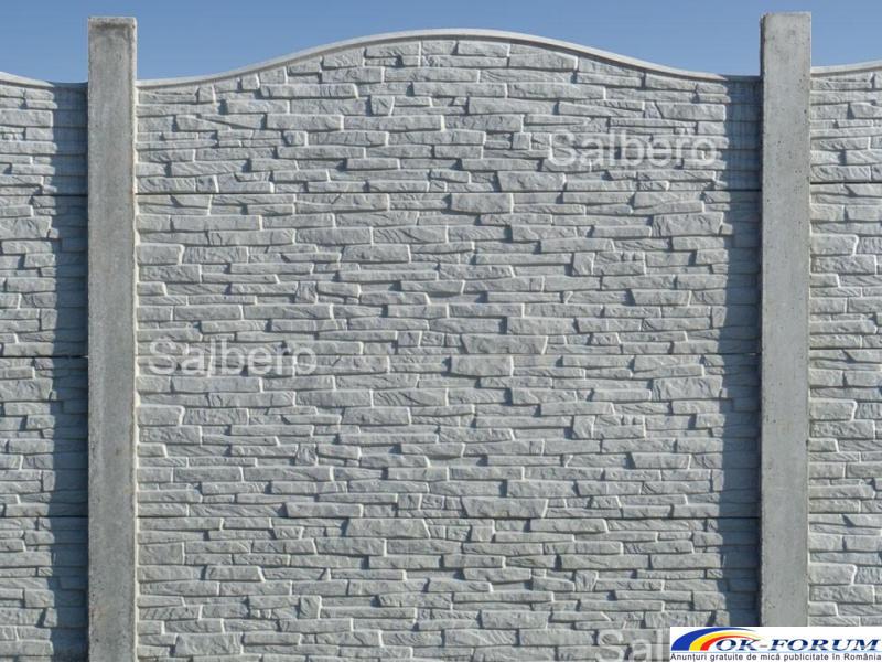 Garduri de beton rezistente - 5